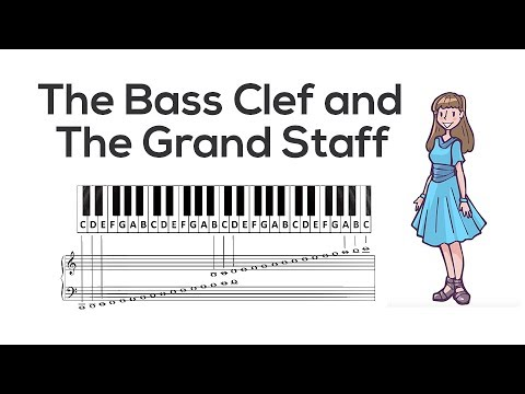 The Bass Clef and the Grand Staff | Music Theory | Video Lesson