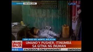 UB: Umano'y pusher, itinumba sa gitna ng inuman sa SJDM, Bulacan