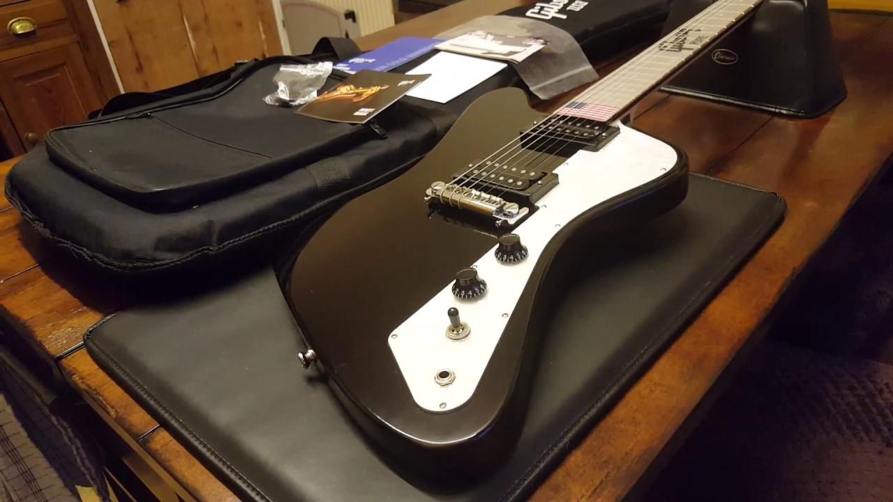 Gibson Firebird Zero New Model Guitar Up Close Video