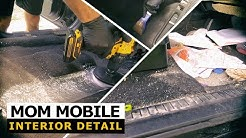 DISASTER Mom Mobile Detailing! Complete Interior Car Detailing and Deep Cleaning Transformation