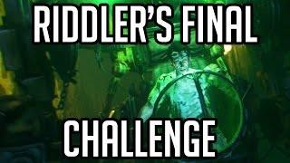 RIDDLER'S FINAL CHALLENGE!! Batman Arkham Knight Walkthrough Gameplay Part 47 (PS4/XB1/PC)