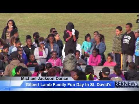 Michael Jackson Dance At Gilbert Lamb Day, Mar 29 2013
