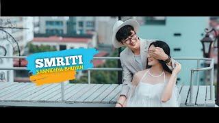 Sannidhya Bhuyan - Smriti [Lyrics Video] Assamese Edm Song 2021    Assam Music King