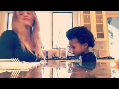 Singer Ciara and rapper Future son