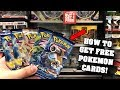 HOW TO GET FREE POKEMON CARDS AT GAMESTOP! BEST DEAL EVER *secret revealed*