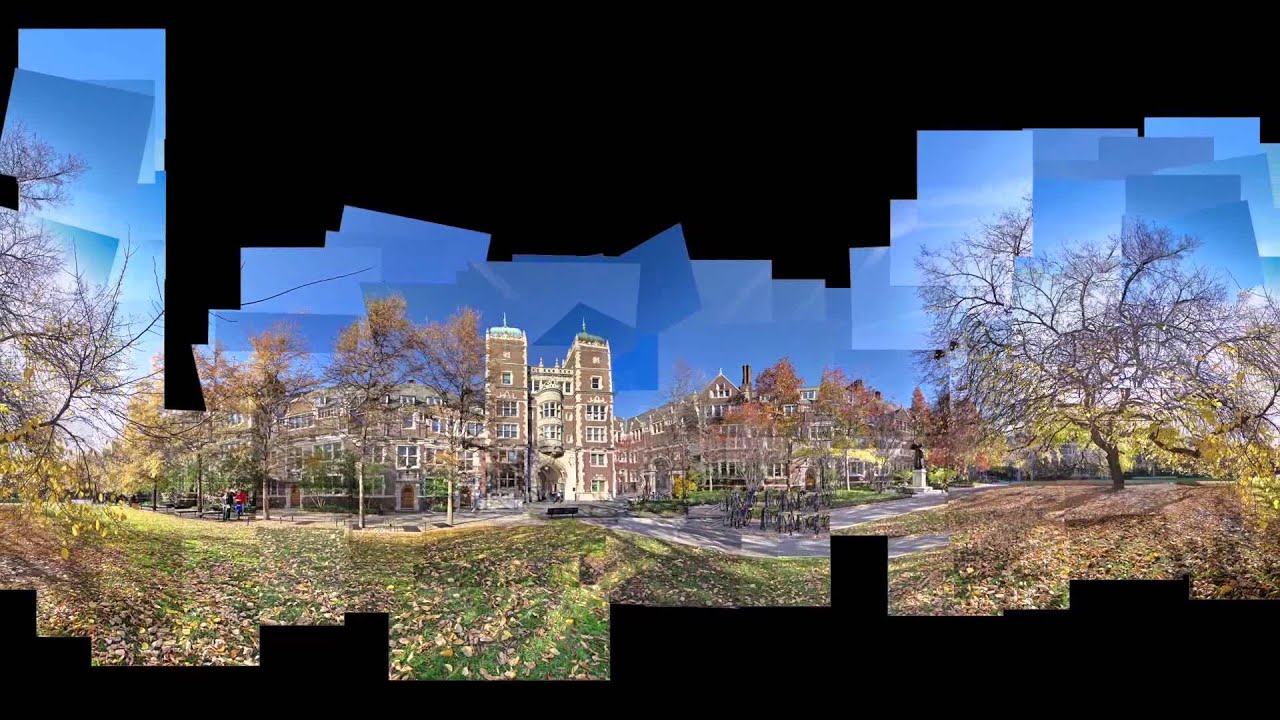 Panoramic Photo Montage I City Architectural Photography