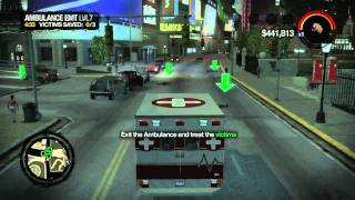 Saints Row 2 Gameplay - Ambulance EMT
