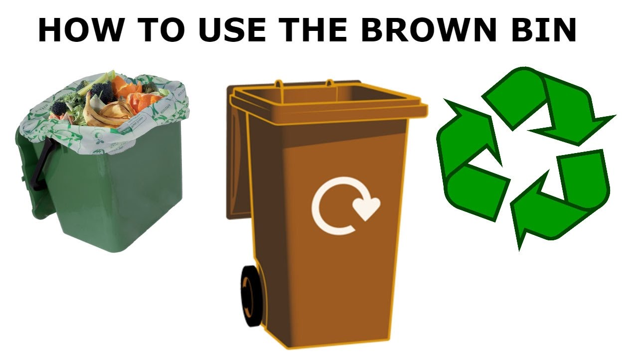 How To Use The Brown Bin Youtube