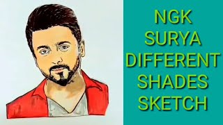 NGK -Official Suriya Different shades of sketch