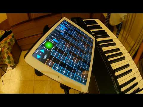 Piero Licari - Keyboards, MacBook Pro with MainStage, IPad with GeoShred and Loop Station