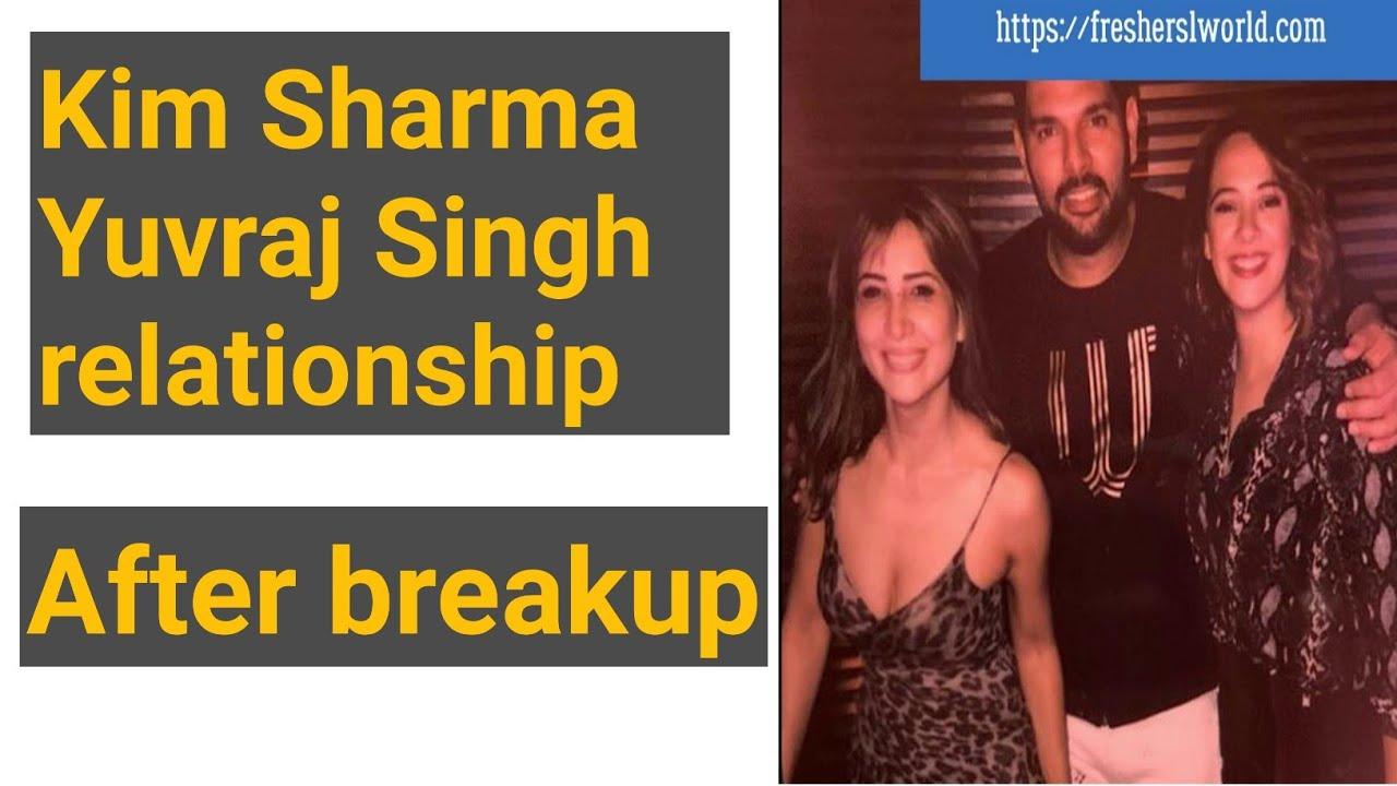Kim Sharma Yuvraj Singh r