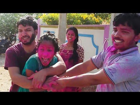 Types Of Holi In India | Funny Holi Video 2017 | by Ammasri Vantalu