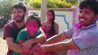 Types Of Holi In India   Funny Holi Video 2017   by Ammasri Vantalu