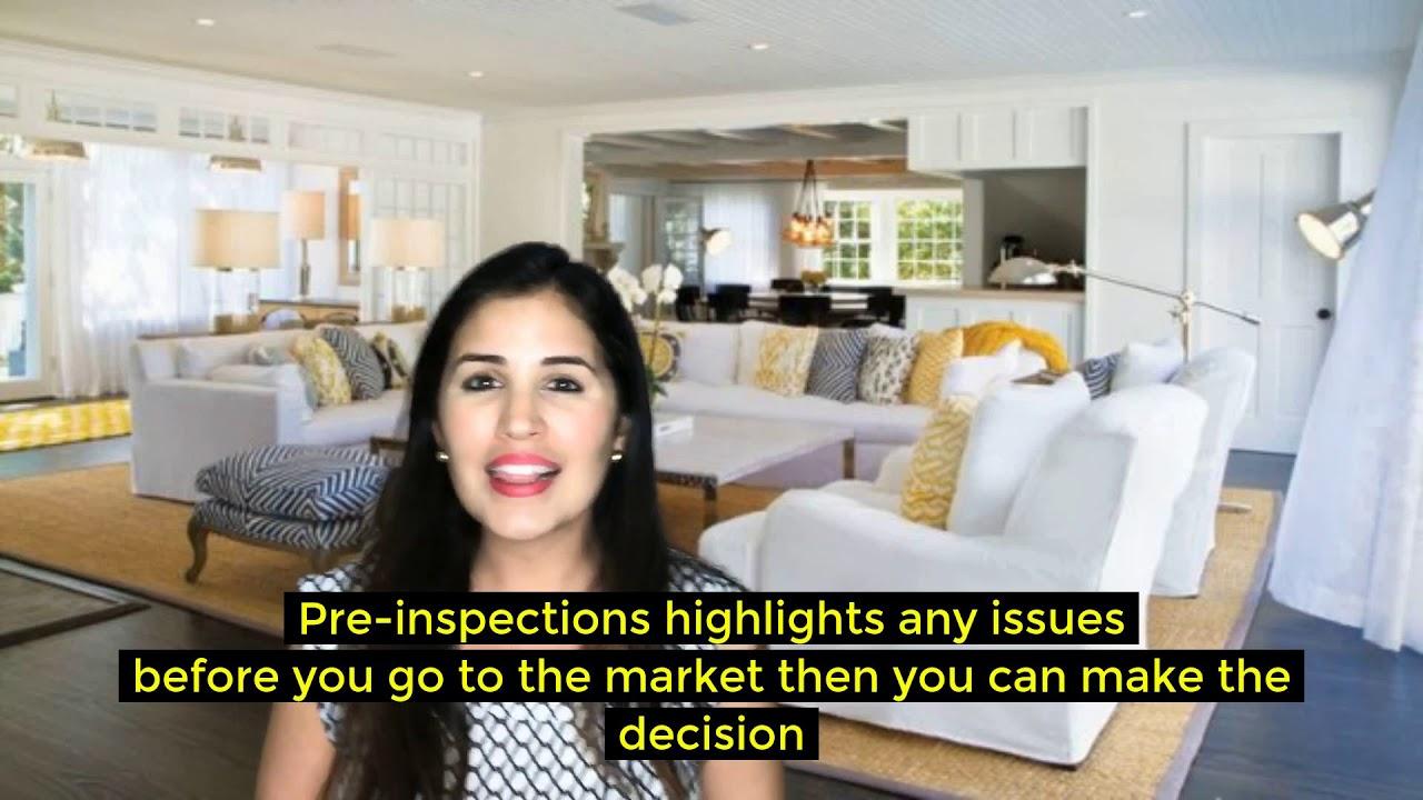 Seller Tips- Heard of a pre-inspection?