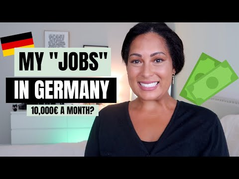 """HOW I EARNED MONEY IN GERMANY- ALL MY """"JOBS"""" IN GERMANY"""