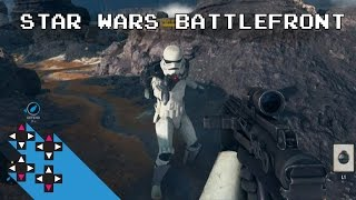 Star Wars Battlefront Beta Drop Zone Mode — UpUpDownDown Plays