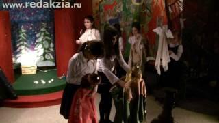 Рождественский спектакль в РГДБ