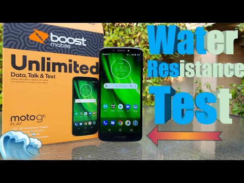 Moto G6 Play Water Resistance Test. Will It Survive ?