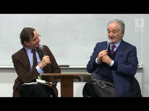 French Literature in the Making: Jacques Attali