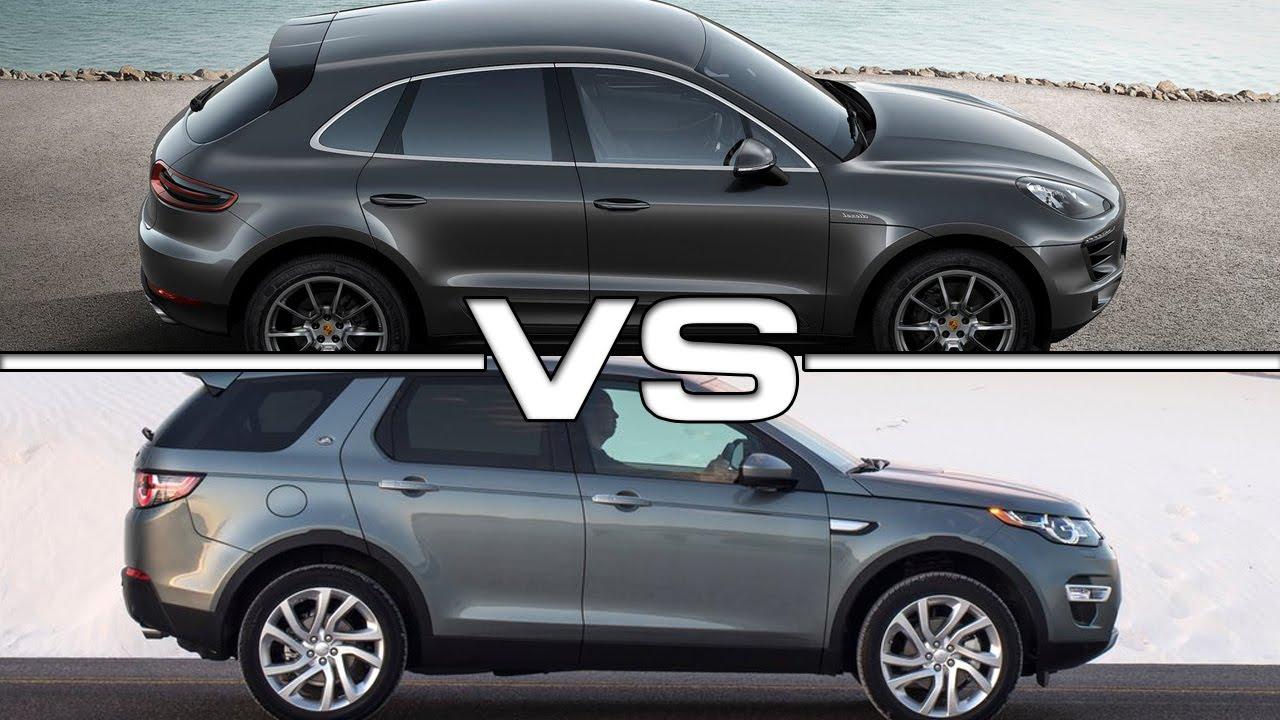 2015 Porsche Macan S vs 2015 Range Rover Discovery Sport  YouTube