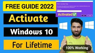 How to Activate Windows 10 for free in 2021 | Direct \u0026 CMD Method