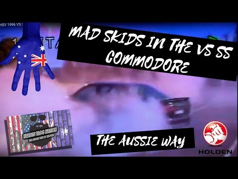 Holden Commodore Ss Burnout Hsv 1996 Vs Ss Youtube