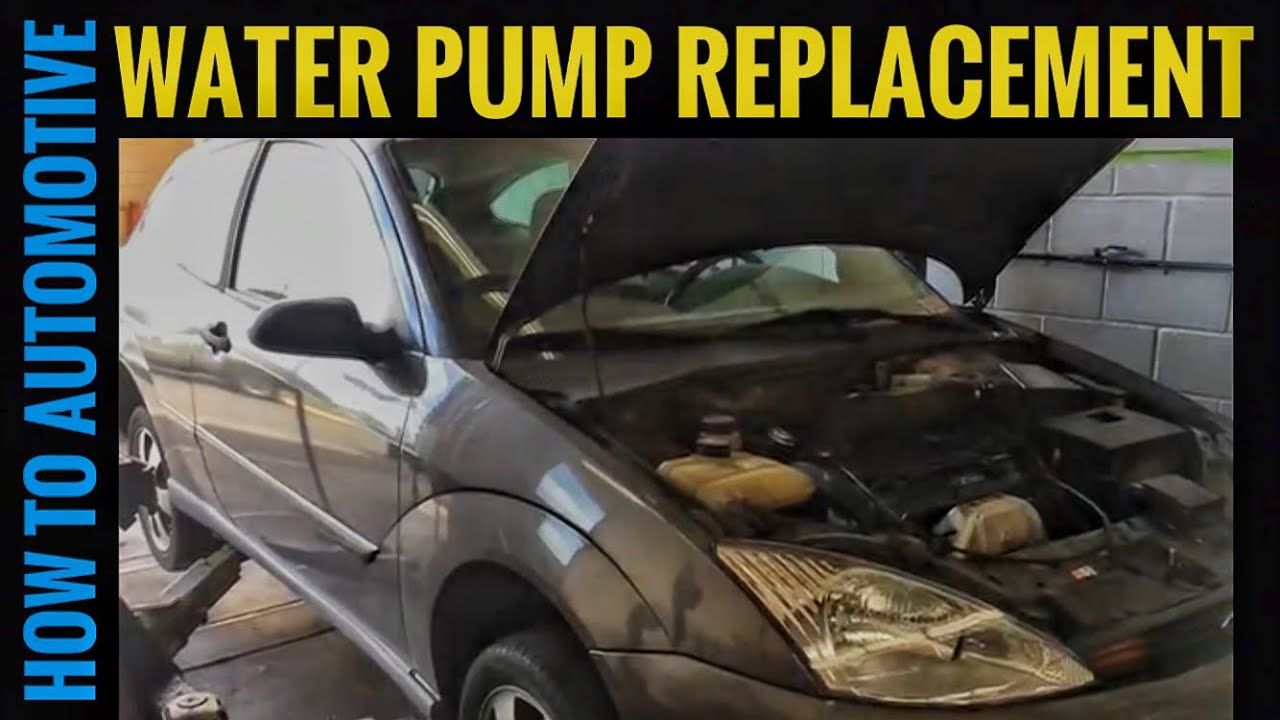how to replace the water pump on a 2001 ford focus zx3 [ 1280 x 720 Pixel ]