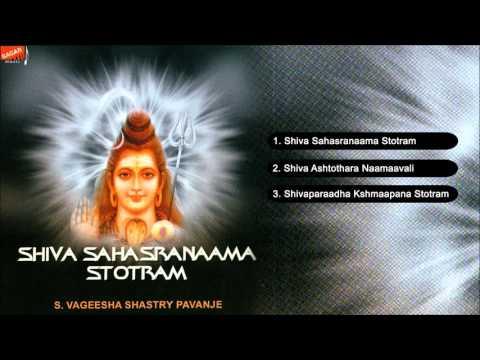 Shiva Sahasranaama Stotra.  S.Vageesha Shastry Pavanje.