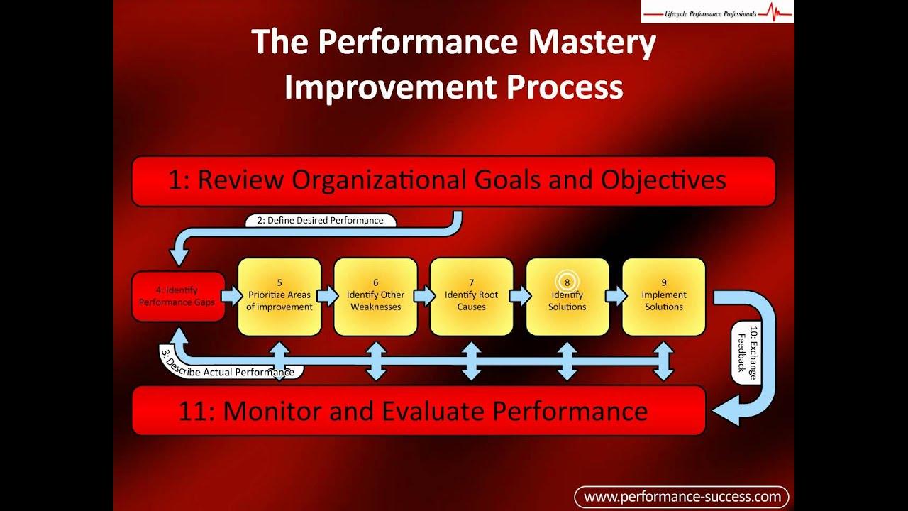 Performance Improvement Plan Resume Template