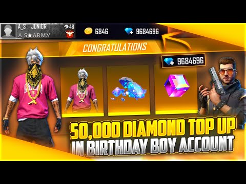 Buying 50,000 Diamond & Dj Alok 😍To My Subscriber On His Birthday| Crying Moment- Garena Free Fire