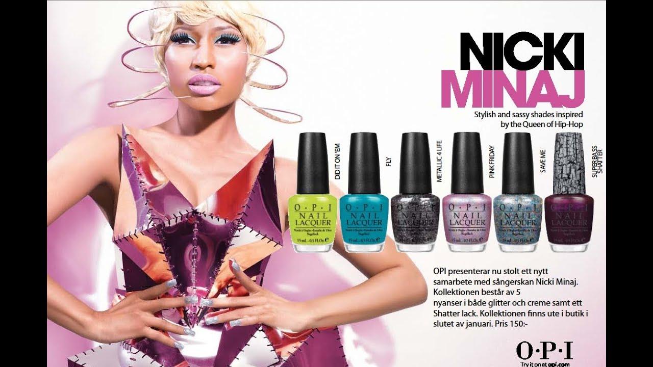 OPI Nicki Minaj Collection