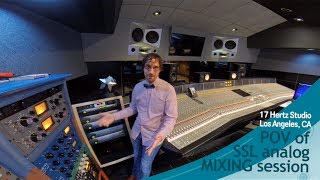 IRKO - POV of analog SSL mixing session