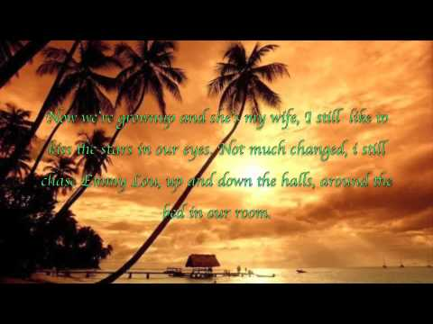 Check yes or no-George Strait-Lyrics on the screen