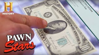 "Pawn Stars: ""The Smoking Hamilton"" $10 Bill (Season 15) 