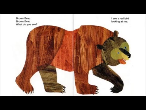 Brown Bear, Brown Bear, What Do You See Read Aloud - YouTube