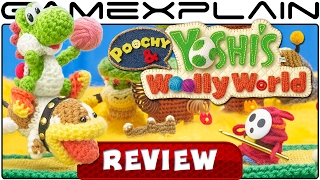 Poochy & Yoshi's Woolly World - REVIEW (3DS)