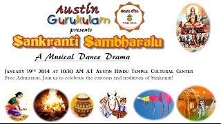 Sankranti Sambaralu - A musical dance drama celebrating the culture and traditions of Sankranti