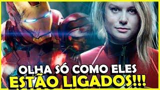 Descubra a CONEXÃO entre Capitã Marvel, Homem de Ferro 2 e Vingadores