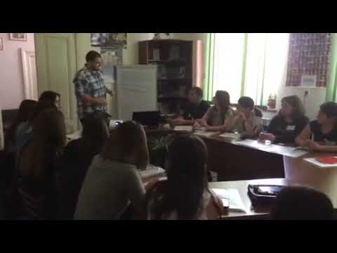 """""""Young Activist"""" Project: Workshop in Akhaltsikhe - 2"""