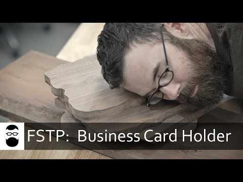 From Start to Part:  Business Card Holder