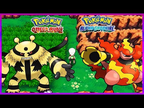 Pokemon OmegaRuby & AlphaSapphire - How To Get Electivire & Magmortar