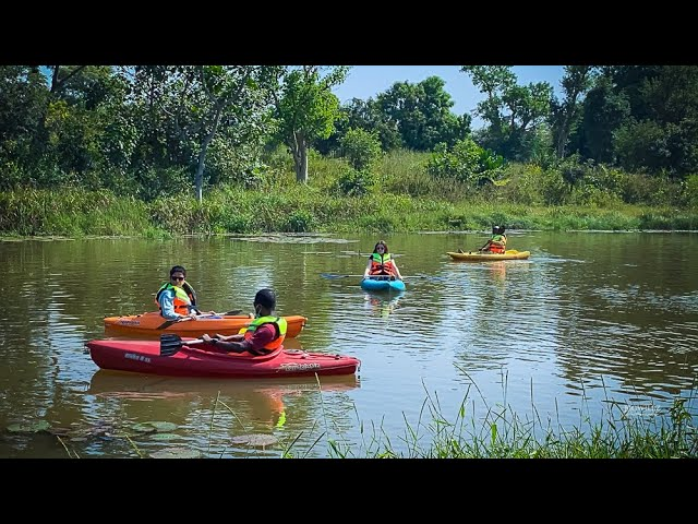 Can I Kayak in Abuja City? Of course you can.