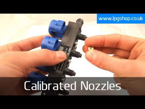 Tomasetto IT01 LPG CNG Injector Rail - www.lpgshop.co.uk