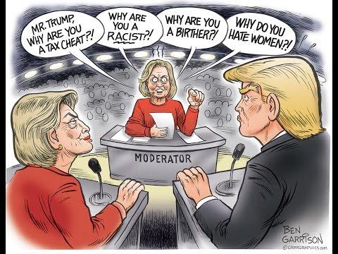 Periodistas progres antes y después de la Elección de Trump.