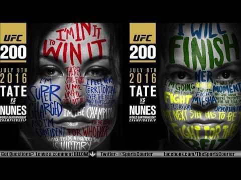 UFC 200 Conference Call: Miesha Tate, Amanda Nunes, Joanna Jedrzejczyk, Claudia Gadelha