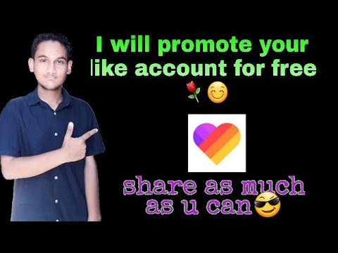 Download I will promote your like account for free  #4