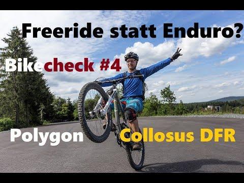Bikecheck #4 - Freeride-Bikes wegen Enduros am Ende? | Polygon Collosus DFR