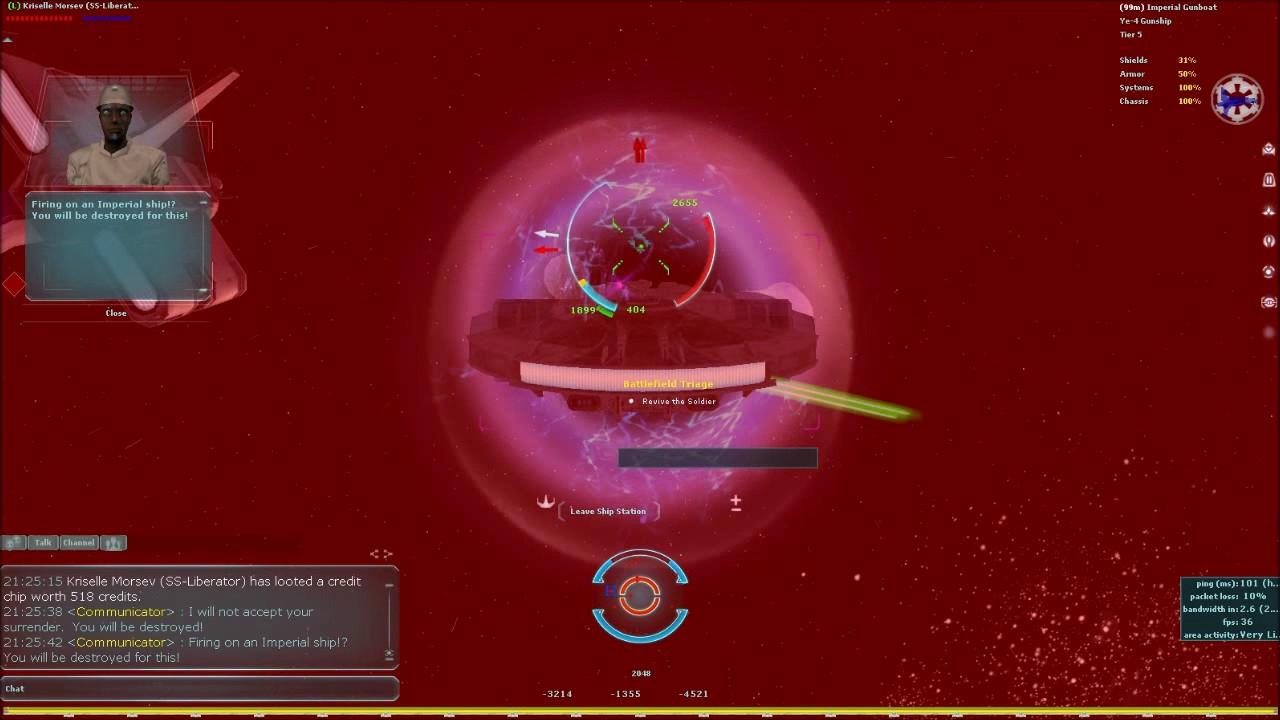 SWG Legends Deep Space Battle