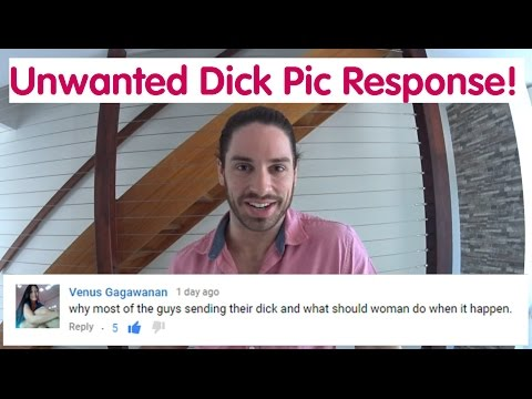 How To Respond To An Unwanted Dick Pic! - Ask Mark #14 - YouTube