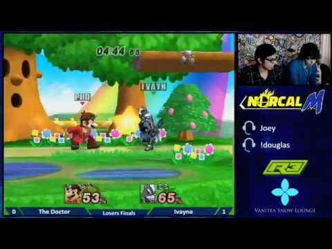 R3 The Douglas - Losers Finals - The Doctor (Mario) v Ivayne (Wolf)